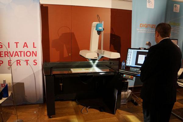 Exhibición del escáner de i2s en los DDays con libnova